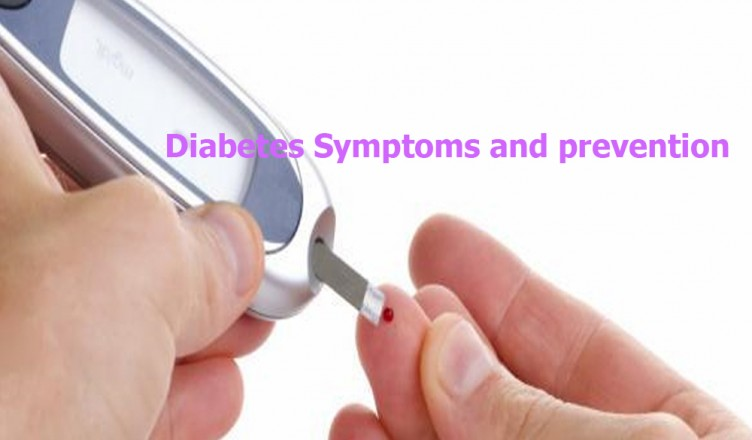 Diabetes Symptoms and Diabetes prevention