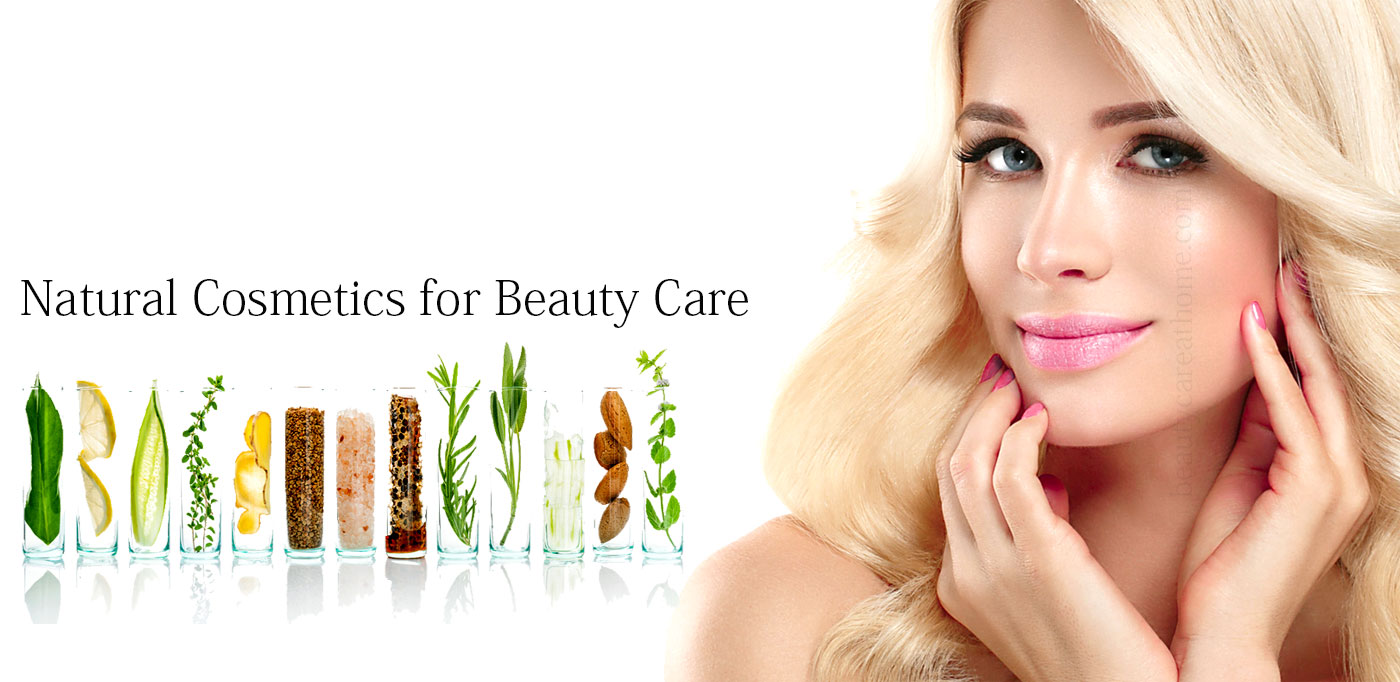 Natural makeup products